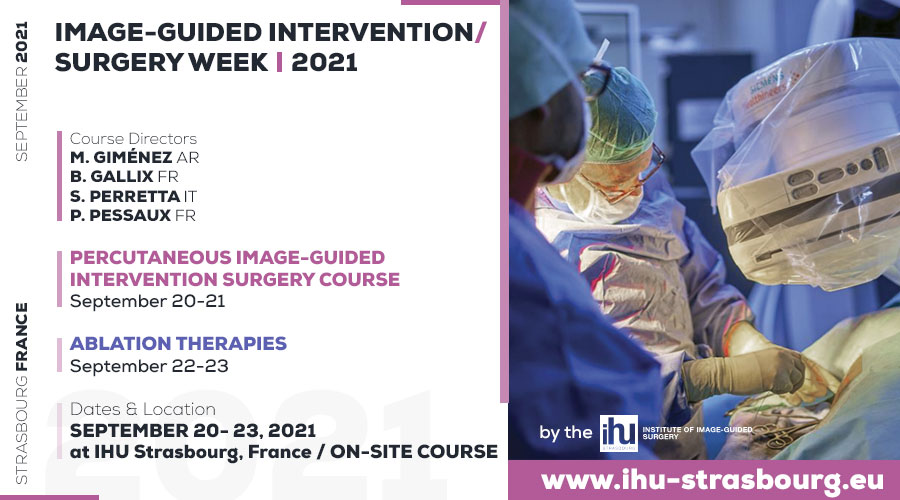 Image-Guided Intervention / Surgery Week I 2021