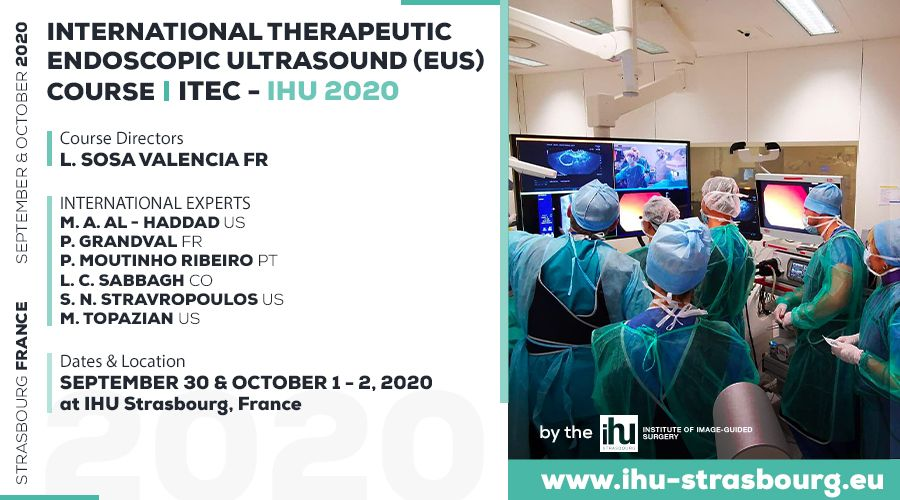 INTERNATIONAL THERAPEUTIC ENDOSCOPIC ULTRASOUND (EUS) COURSE