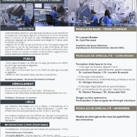 INTER UNIVERSITY DIPLOMA FOR ROBOTIC DIGESTIVE 2019-2020, download curriculum program