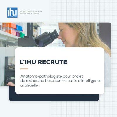 Anatomo-pathologiste pour projet de recherche basé sur les outils d'intelligence artificielle